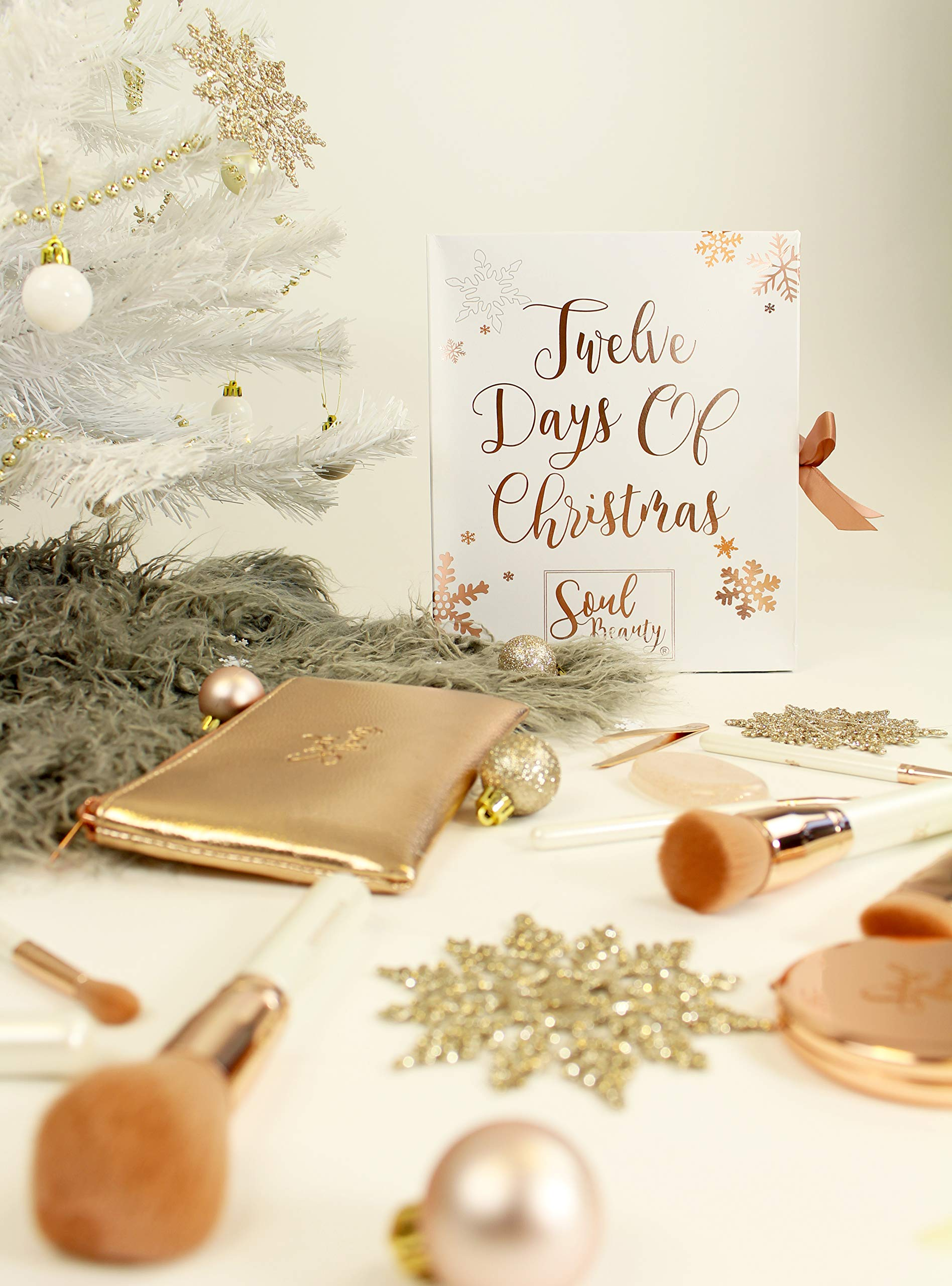 Accentra Adventskalender 2019 Wellness Bath Body Merry Christmas Gold Frauen