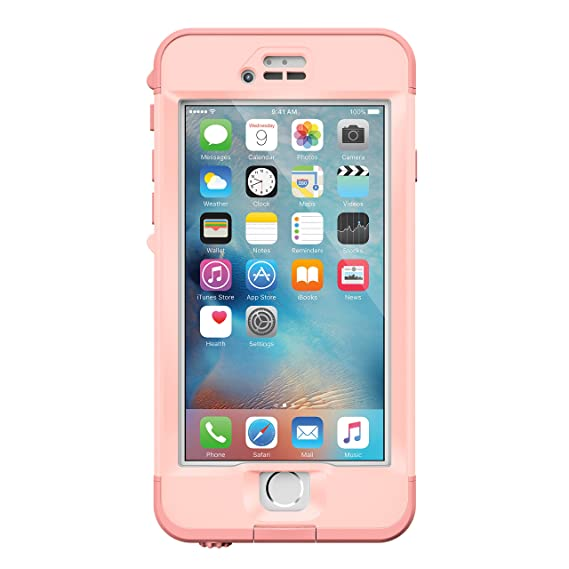 3fdf5bfe5114b Lifeproof NÜÜD SERIES iPhone 6s Plus ONLY Waterproof Case - Retail  Packaging - FIRST LIGHT (PINK JELLYFISH/CLEAR/SEASHELLS PINK)