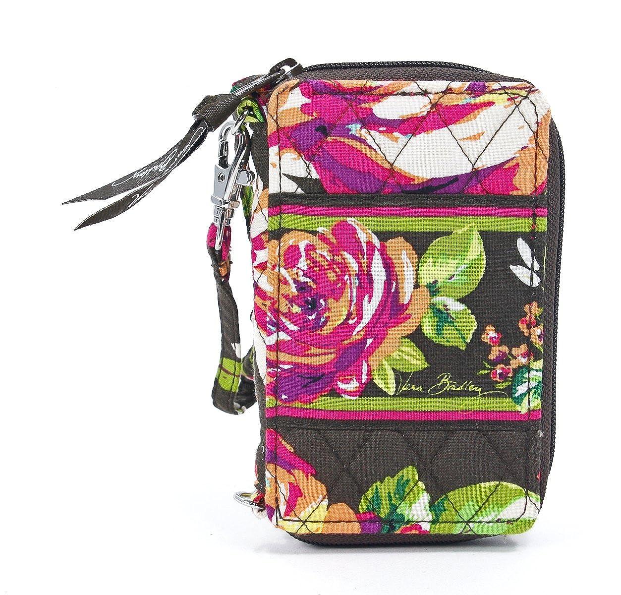 fddbb9a234f Vera Bradley Carry It All Wristlet, Bittersweet, OS  Handbags  Amazon.com