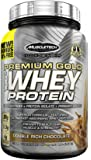 MuscleTech Premium Gold 100% Whey Protein, Premium Whey Protein Powder, Instantized and Ultra Clean 100% Whey Protein, Double Rich Chocolate, 2.3 Pounds