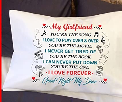 Girlfriend Gifts Pillow Case
