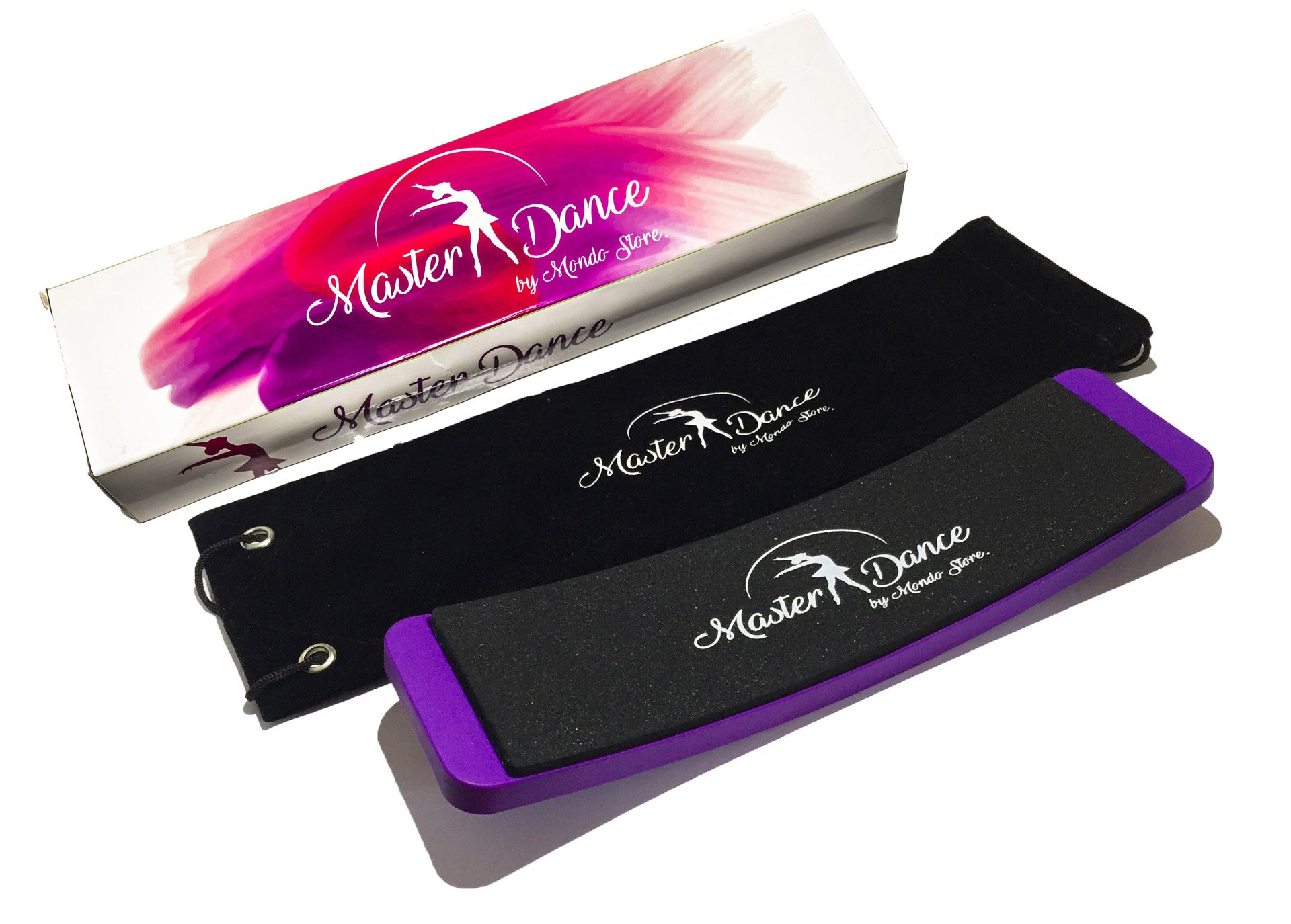 Master Dance Ballet Turn Board Perfect Pirouettes, Turns, Spins- Improve Balance- Portable Dancers Training Equipment-FREE eBook- Premium Quality Gift Box, Carry Bag and Pirouette Tips Included by Master Dance