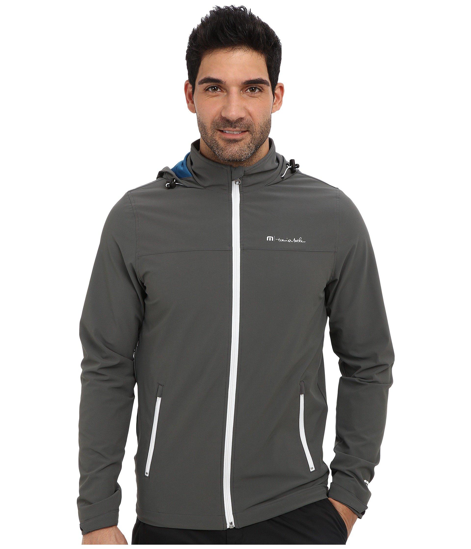Travis Mathew Men's Delta Jacket, Dark Grey, Small by Travis Mathew