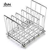 Sous Vide Rack Heavy Duty 304 Stainless Steel, Adjustable Collapsible Compact Design Is Rust Resistant For Max Durability, Fast Even Heating For Sous Vide Bags, Use In Any Sous Vide Container