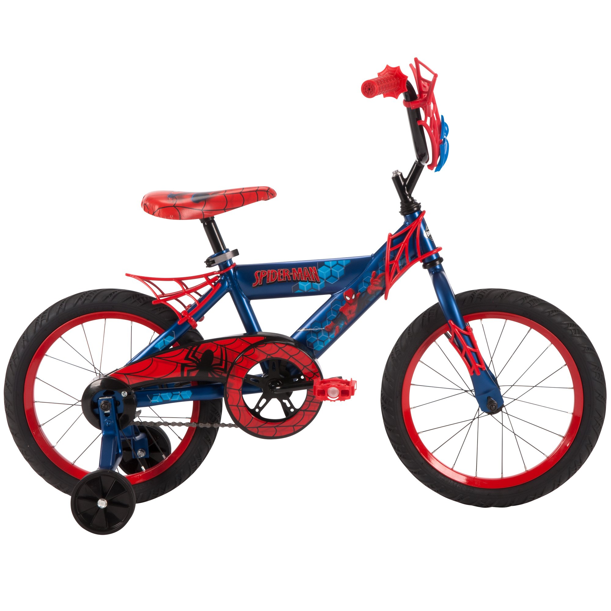 16'' Marvel Spider-Man Bike by Huffy, Ages 4-6, Height 42-48'' by Huffy (Image #8)