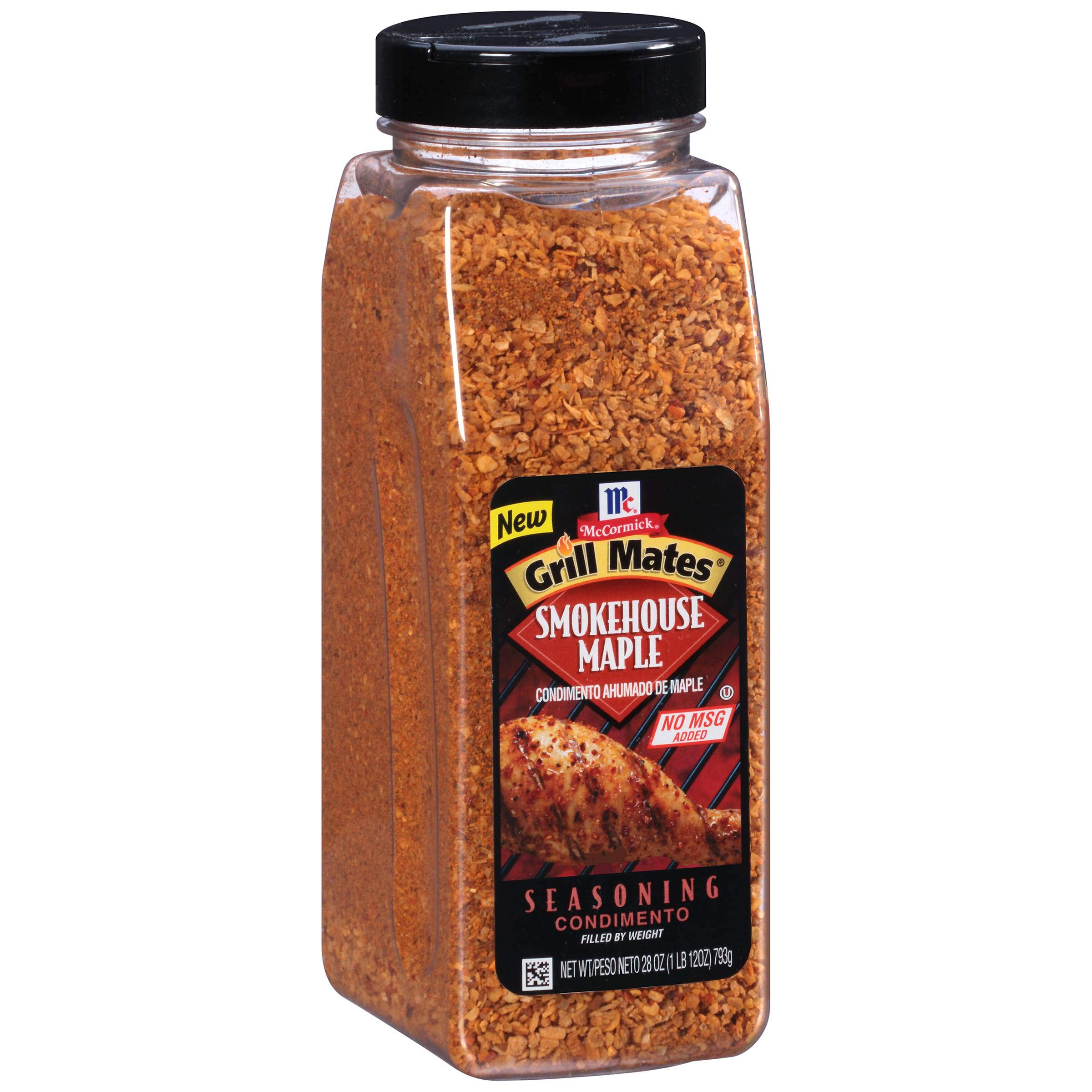 Mccormick Grill Mates Smokehouse Maple Seasoning, 28 Ounce -- 6 per case.