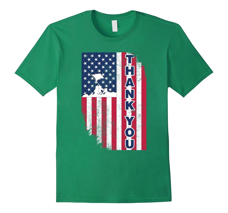 Thank You Veteran American Flag shirt, Gift For Veterans Day