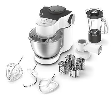 Krups KA2531 Küchenmaschine Master Perfect Plus, 4 L, 700 W, Inklusive  Schnitzelwerk Und