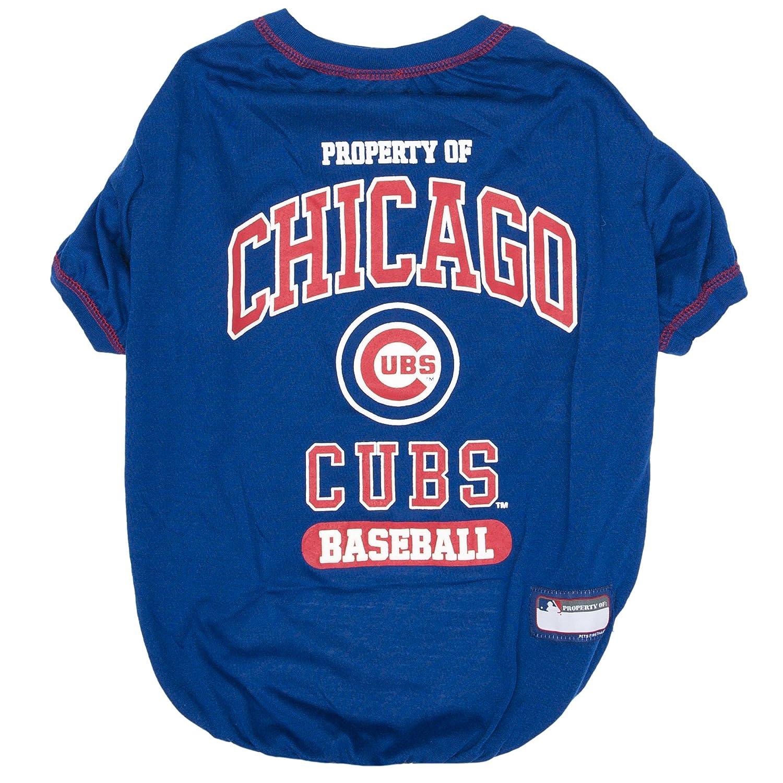 Amazon MLB CHICAGO CUBS Dog T Shirt X Small Licensed Shirt