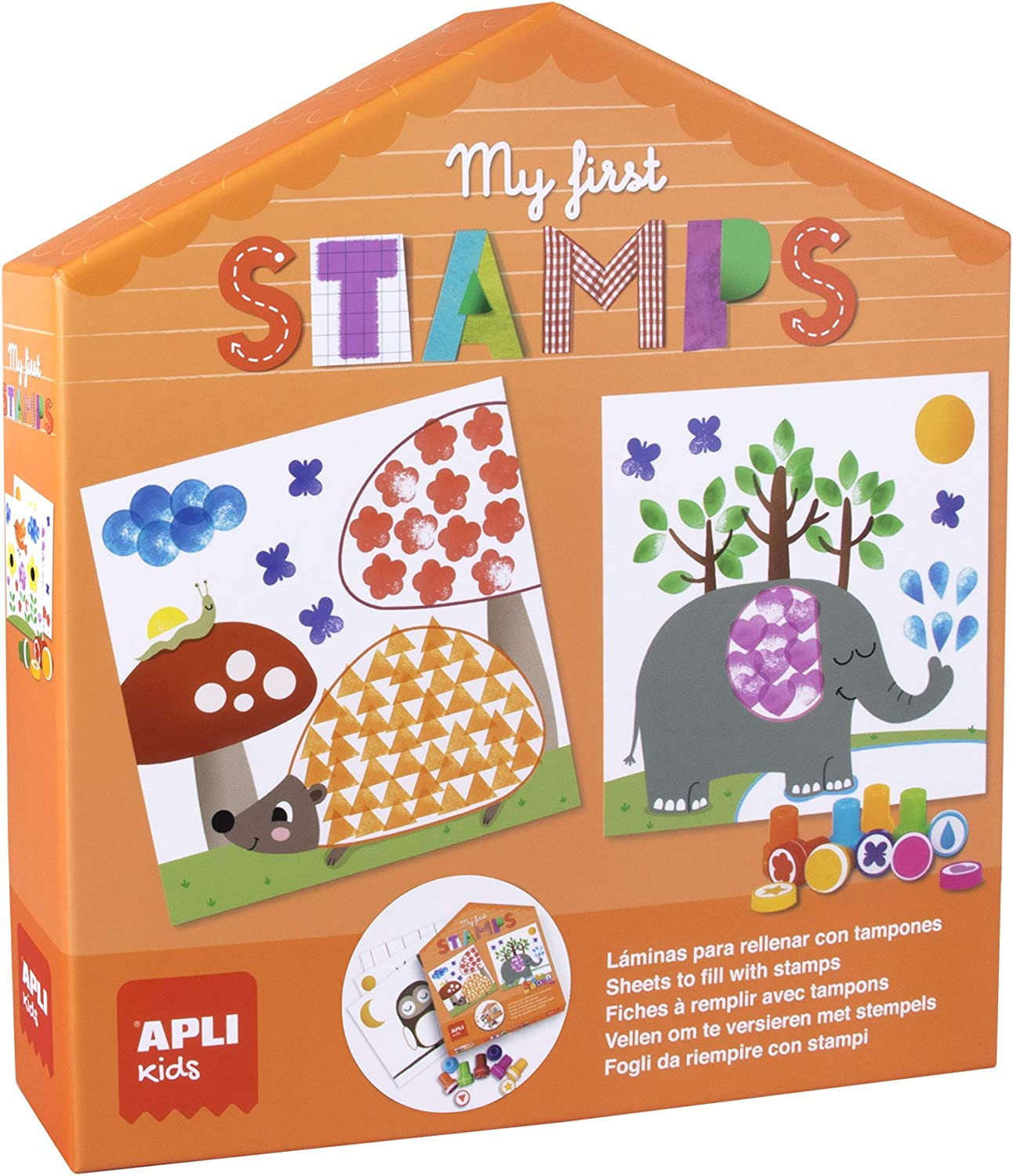 APLI Kids- My First Stamps, Multicolor (18506)