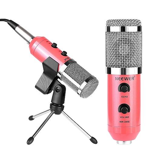 22 opinioni per Neewer Microfono Professionale a Condensatore a USB con Supporto Clip a