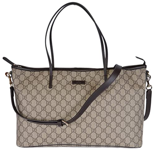 b01a69aa590f Gucci Women's GG Supreme Canvas Convertible Handbag (Ebony Beige/Brown):  Amazon.ca: Shoes & Handbags