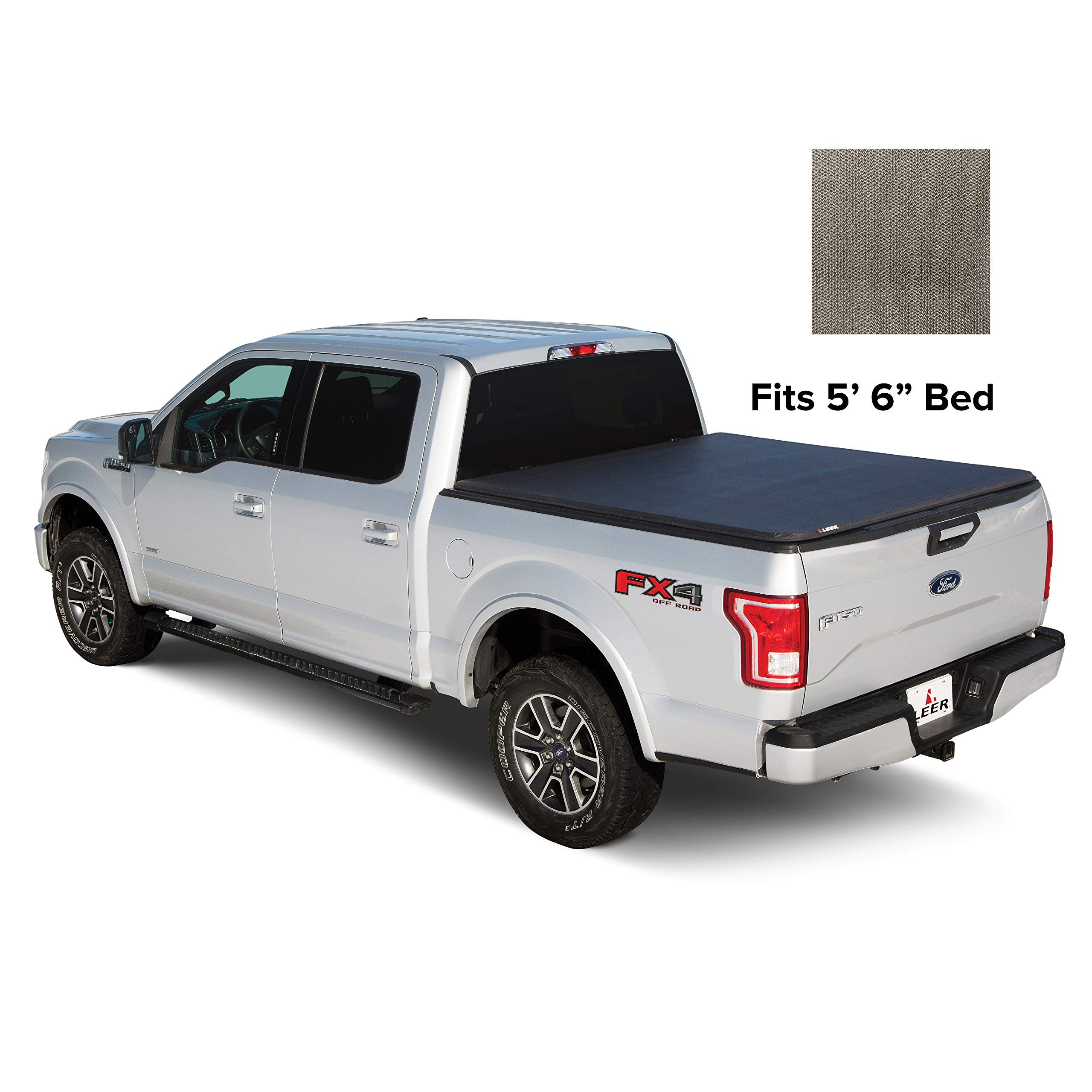 Car Truck Exterior Parts Oedro 6 5ft Tri Fold Bed Tonneau Cover
