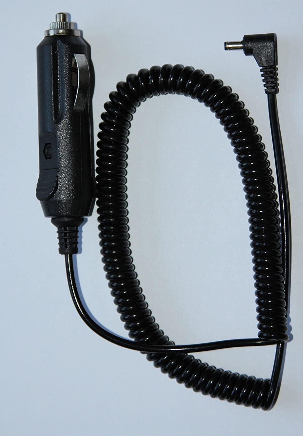 Cobra 420026N001 Power Cord Coiled 12 Volt Coiled Power That Stretches to 6 Feet