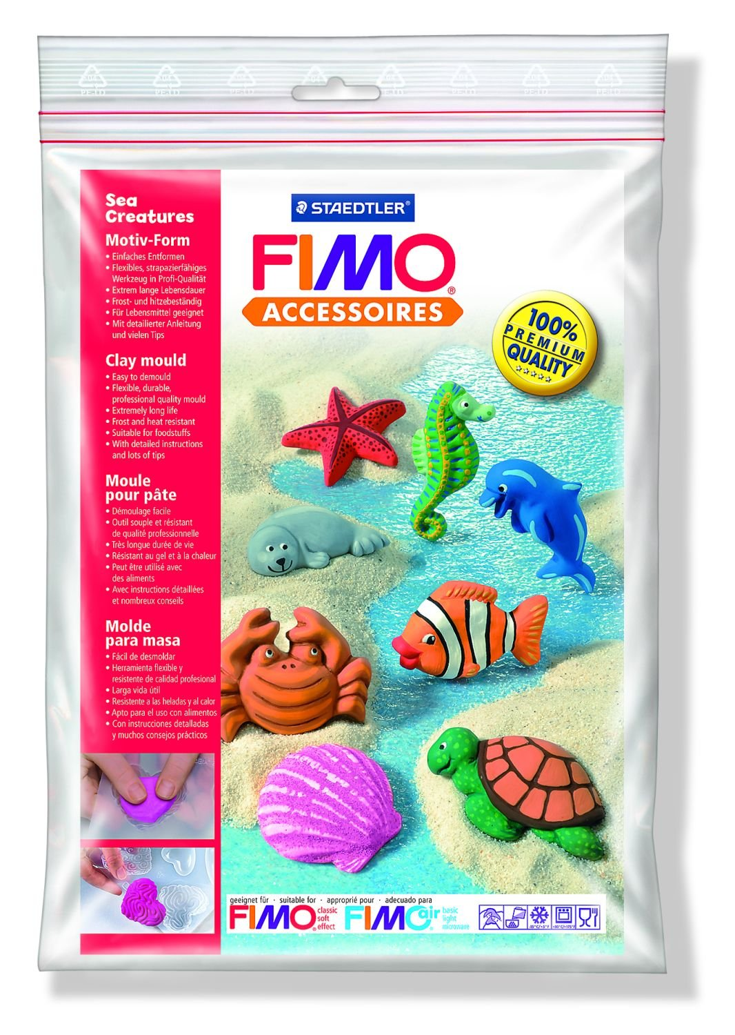 STAEDTLER Fimo Sea Creatures 8 Designs
