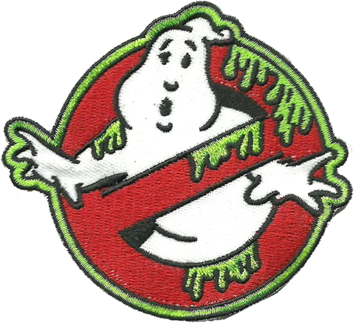 J/&C Ghostbusters 5 Movie Logo Embroidered Sew//Iron-on Patch