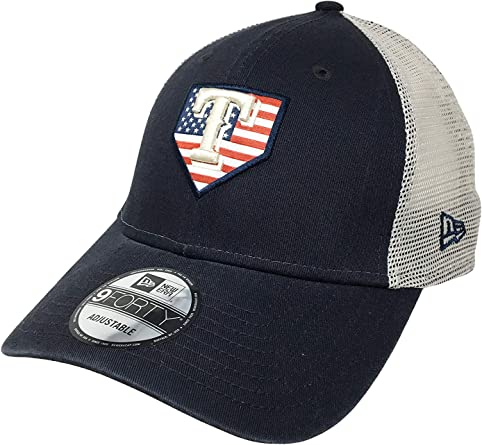 NEW ERA 9 FORTY CAP YOUTH TEXAS RANGER RED BLUE ADJUSTABLE
