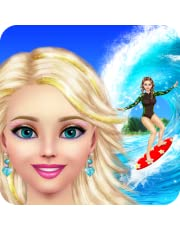 Surfer Girl Makeup and Dress Up - Full Version