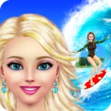 Surfer Girl Makeover: Spa, Makeup and Dress Up Game for Kids