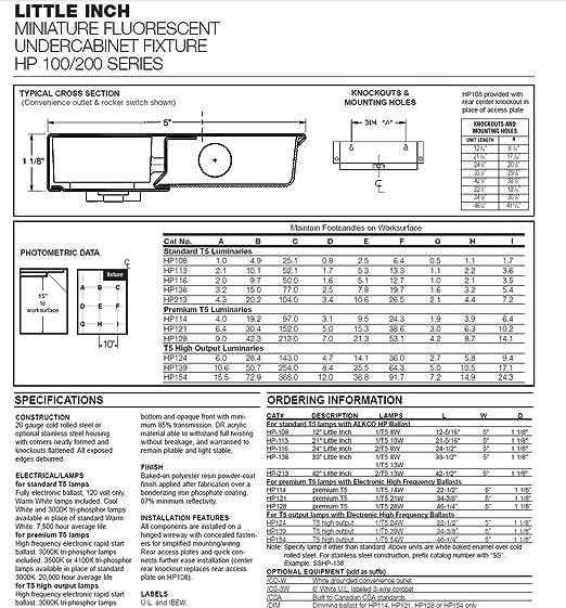 Alkco hp 116 24inch little inch miniature fluorescent undercabinet alkco hp 116 24inch little inch miniature fluorescent undercabinet amazon aloadofball Images
