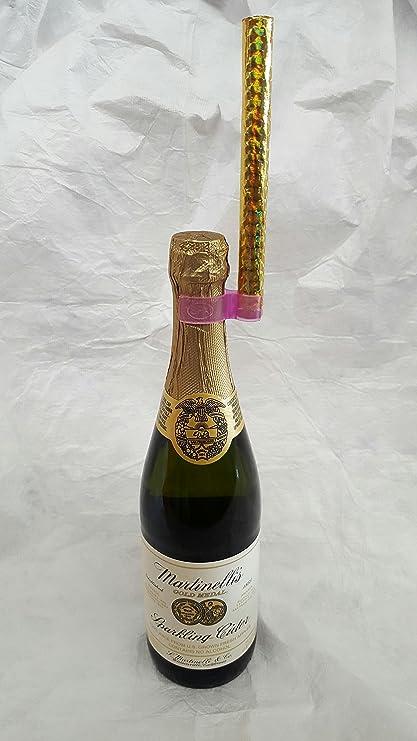 Champagne Bottle Sparkler Single Holder Safety Clips 12 Pack