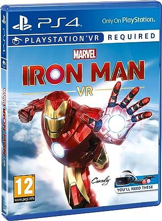 Marvels Iron Man VR - PlayStation 4 [Importación inglesa]: Amazon.es: Videojuegos