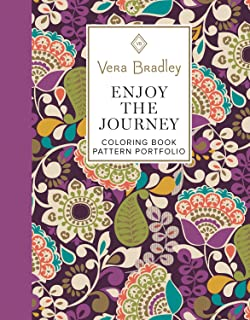 Amazon.com: Vera Bradley Floral Patterns Coloring Book (Design ...