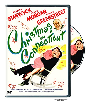 Christmas In Connecticut Movie.Amazon Com Christmas In Connecticut 1945 Dvd Barbara