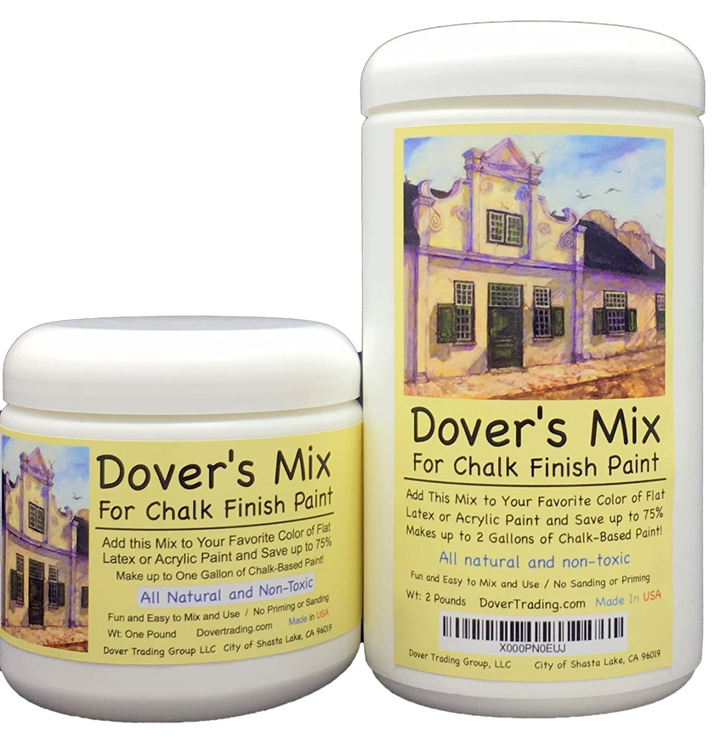 Amazon.com: Chalk Finish Paint Mix by Dover\'s – Add to any Color of ...