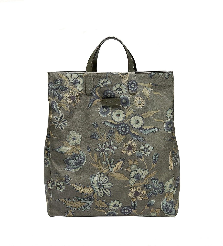 79d509f0a2f6 Amazon.com: Gucci Unisex Green Canvas Floral Fabric Top Handle Tote Bag  341739 3354: Shoes