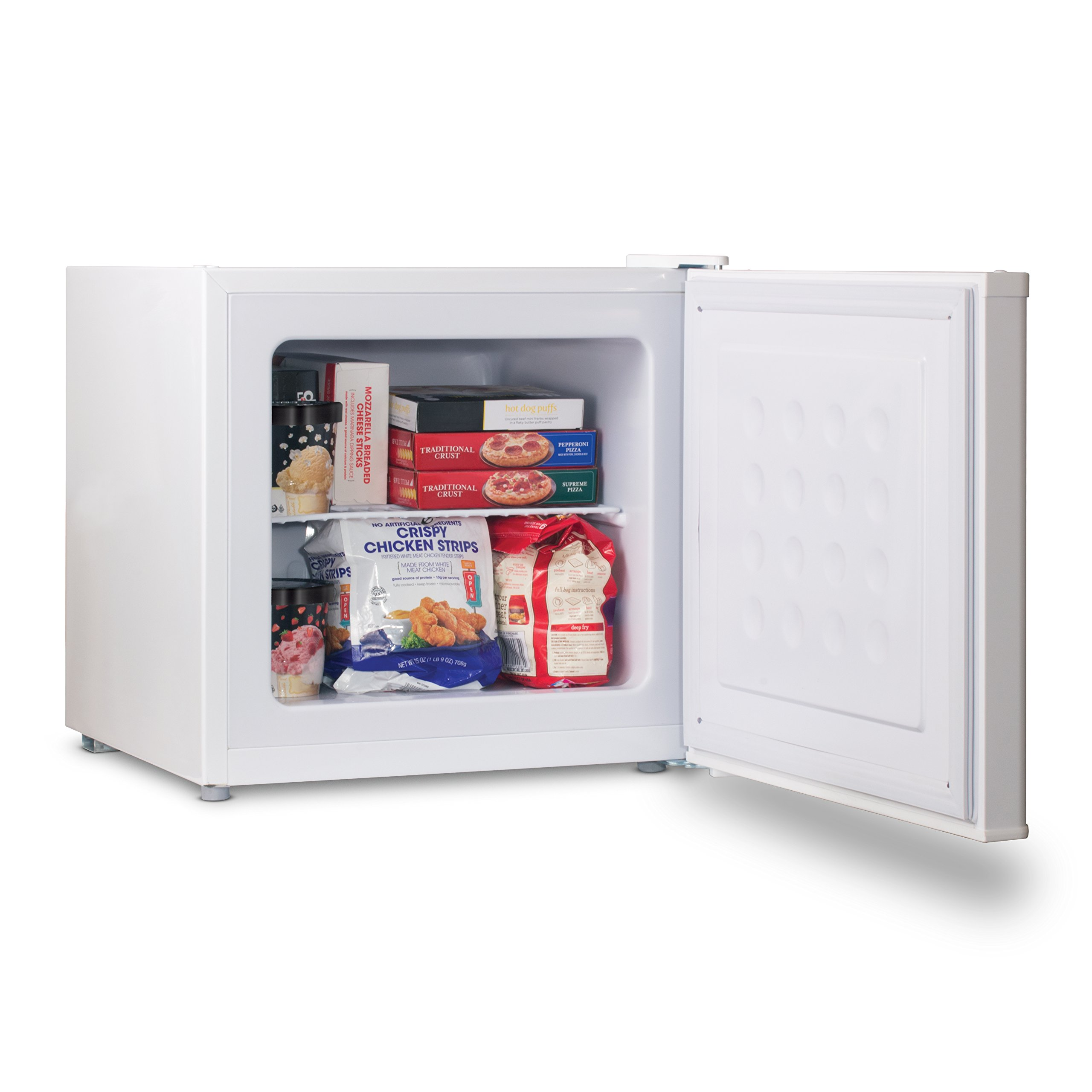 Commercial Cool CCUK12W 1.2 Cu. Ft. Upright Freezer with Adjustable Thermostat Control and R600a Refrigerant, White by Commercial Cool (Image #2)