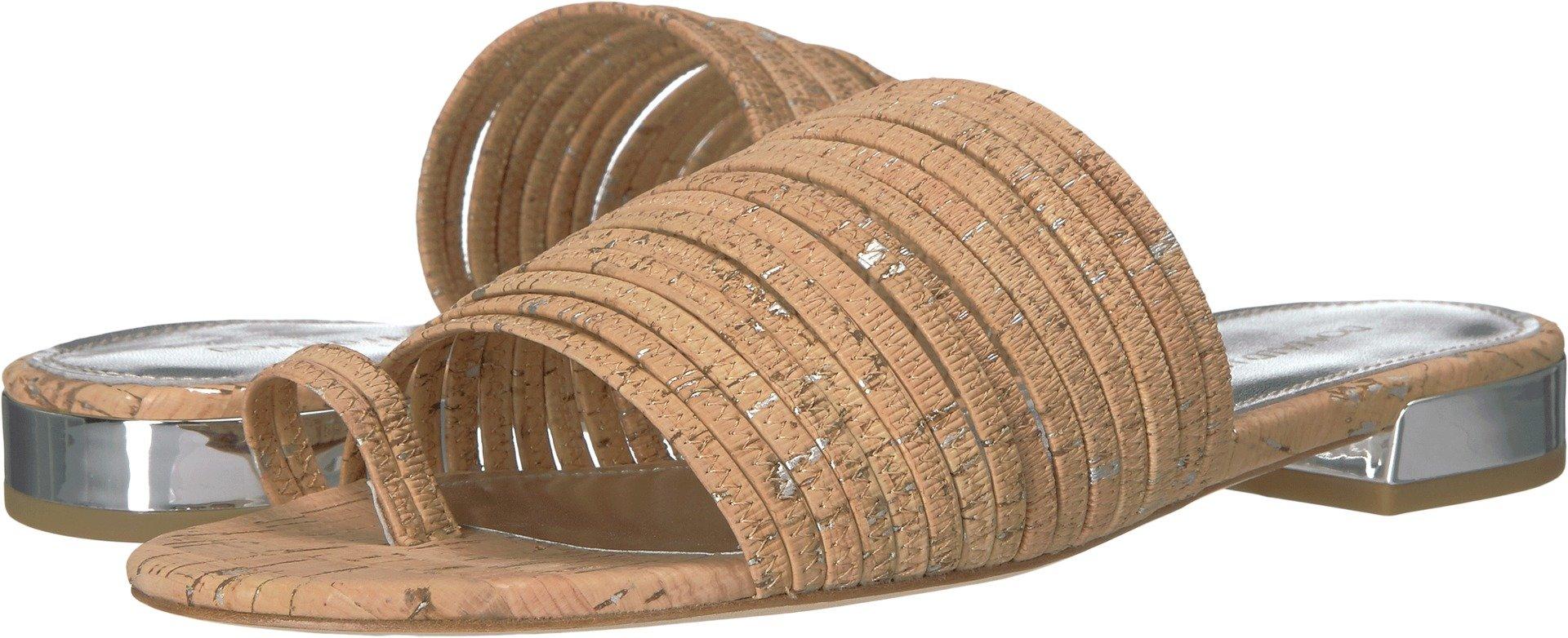 Donald J Pliner Women's Frea Natural/Silver Sandal