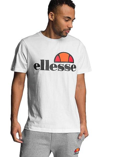 15f95d31 Ellesse Prado Optic White Cotton T-Shirt XXL White
