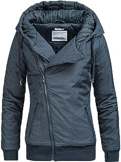 9fd53cbd15fe86 Eight2Nine Damen Jacke Winterjacke 44278AEN 1 Farben S-XL: Amazon.de ...
