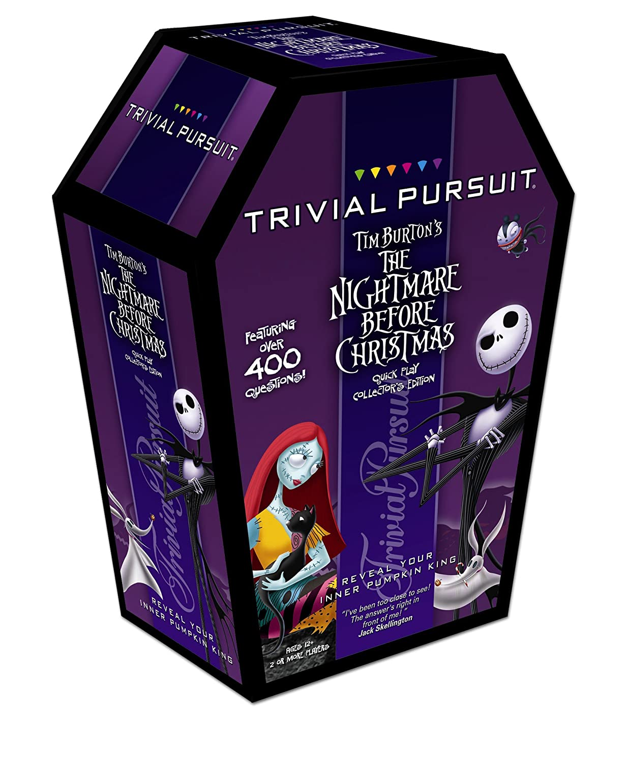 Amazon.com: TRIVIAL PURSUIT: Tim Burton\'s The Nightmare Before ...