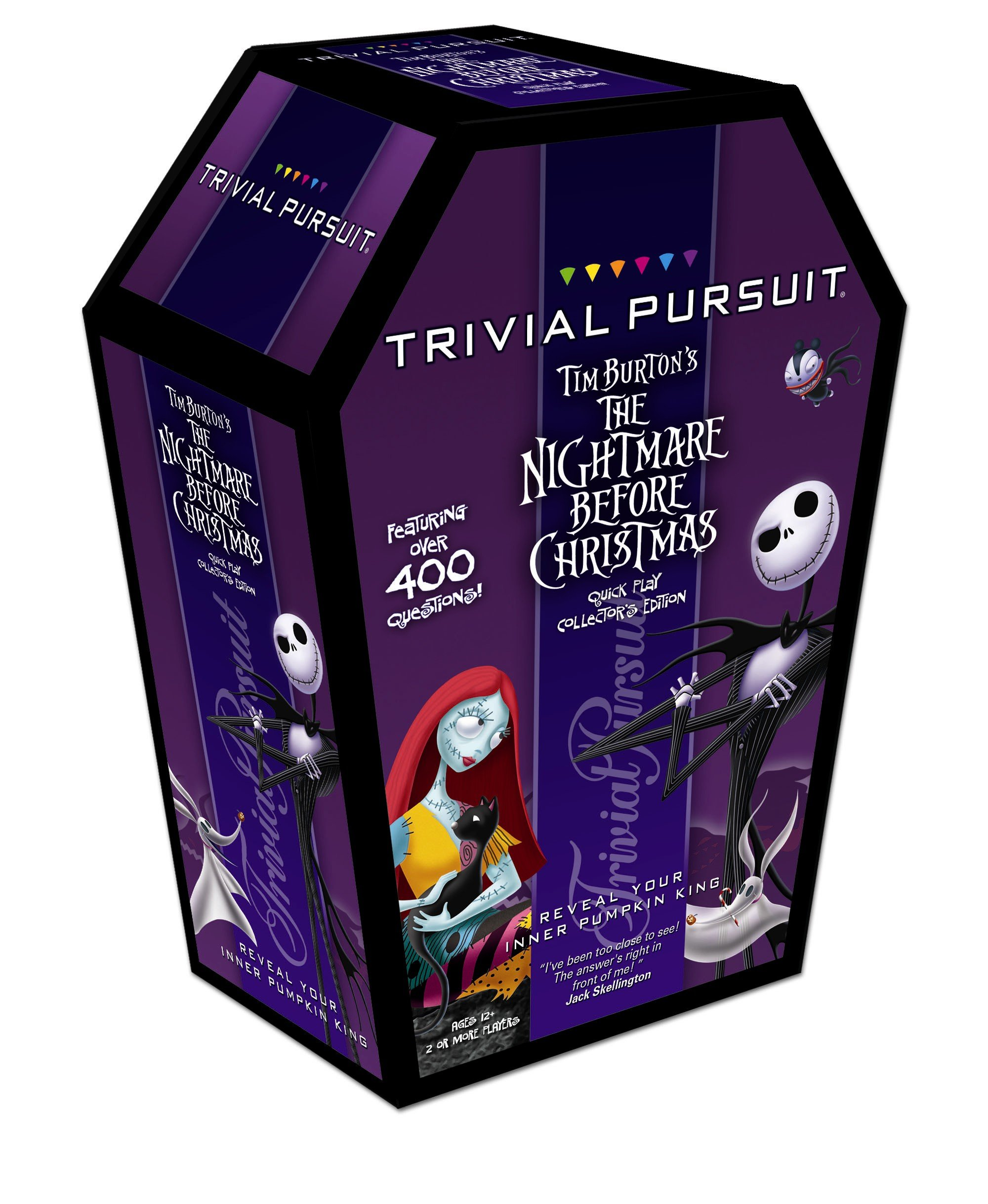 Trivial Pursuit: Tim Burton\'s the Nightmare Before Christmas Travel ...
