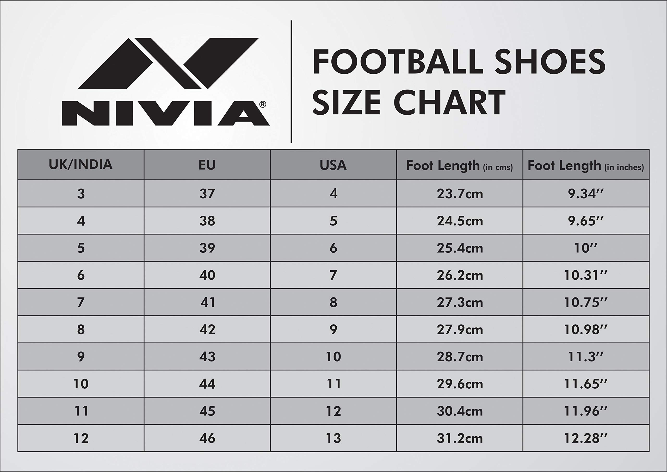 Amazon price history for Nivia 454O Synthetic Pro Carbonite Football Stud