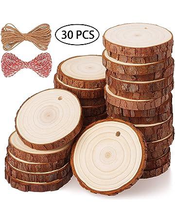 Quadrato in legno 100/x 100/mm set di 6/sottobicchieri con supporto//////Unpainted//decoupage//sottobicchieri Dimensioni ca