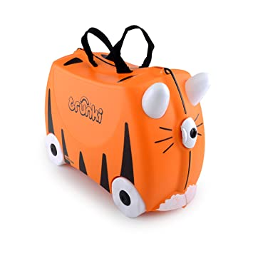6b4ff1c3a Amazon.com: Trunki: The Original Ride-On Suitcase NEW, Tipu (Orange ...
