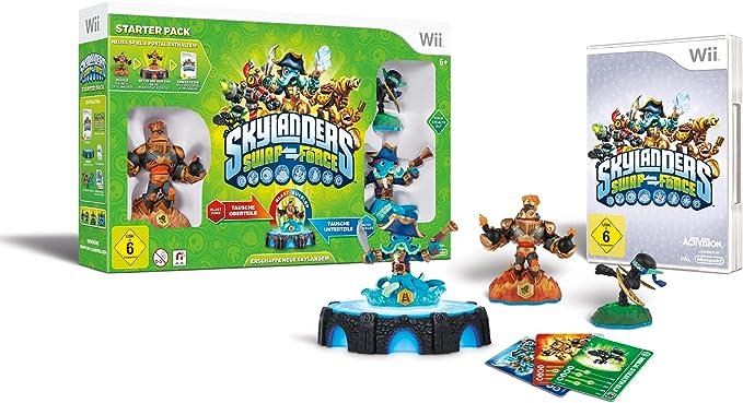 Activision Skylanders SWAP Force Starter Pack Nintendo Wii Alemán vídeo - Juego (Nintendo Wii, Acción / Aventura, Modo multijugador, E10 + (Everyone 10 +)): Amazon.es: Videojuegos