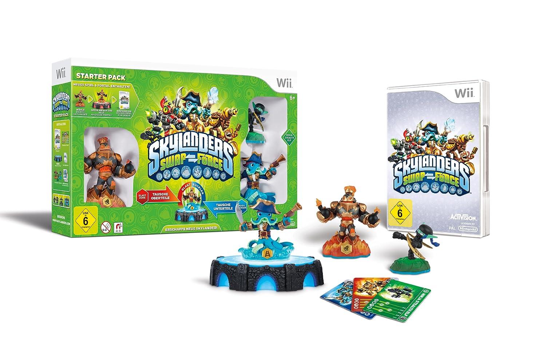 Skylanders Swap Force Starter Pack - [Nintendo Wii]: Amazon.de: Games