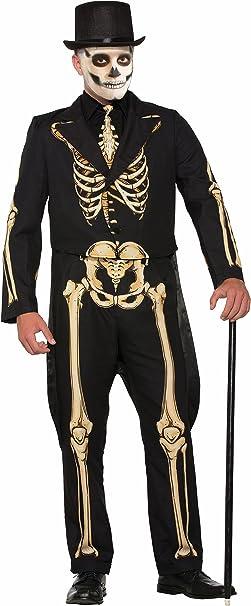 Amazon.com: Forum traje de esqueleto para hombre Attire ...