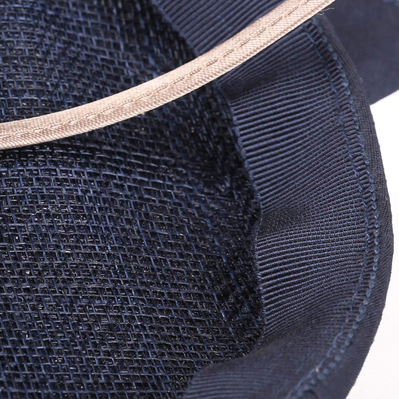 Deevoov Sinamay Tissu de Polyester Fascinator Chapeau de Mode Bandeau Chapeau Royal de f/ête