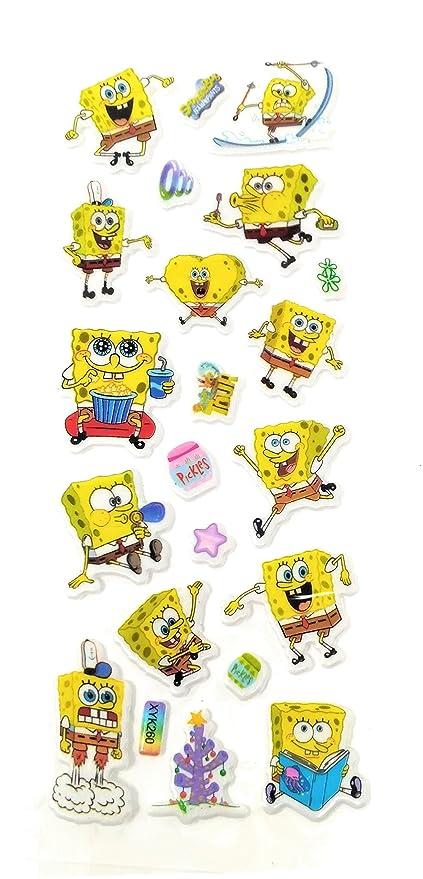 Oytra Mini Cartoon Puff Stickers