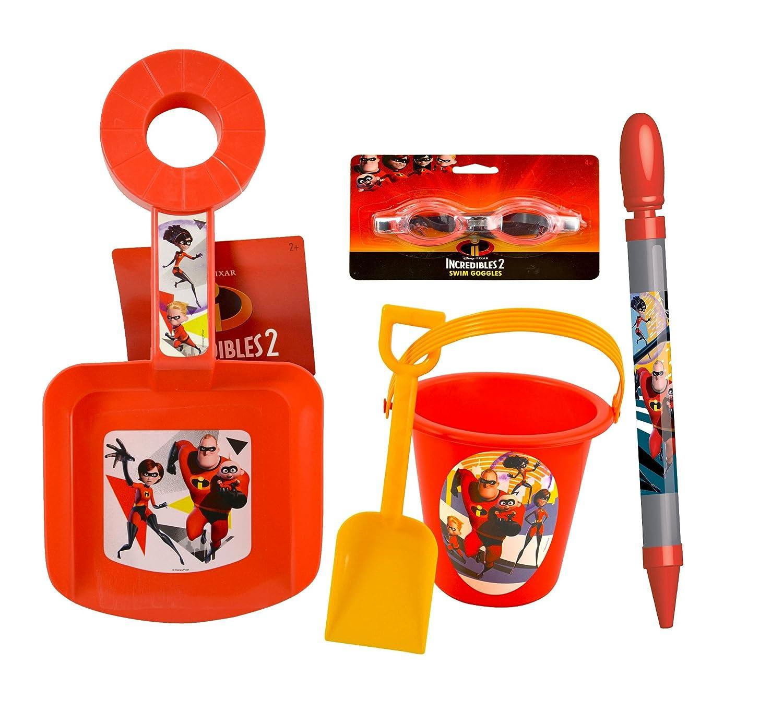 非常に高い品質 ディズニーピクサーMr。インクレディブル2 & Sand & WaterアウトドアPlayセット B07C7JN2HN, MIZOGUCHISPORTS:c137821a --- munstersquash.com