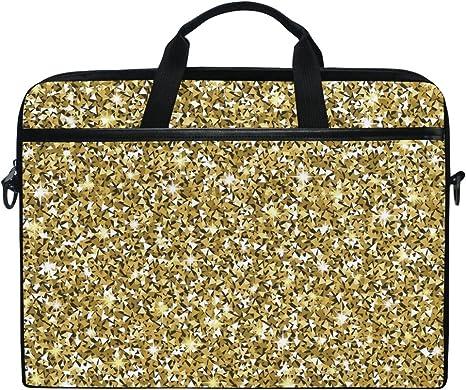 Ahomy 38,1 15,4 Zoll Laptop Tasche, goldene Textur: Amazon