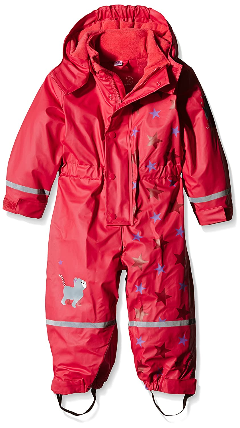 Sterntaler Unisex Baby Allover Starred Rain Trousers Red (804) 5651522