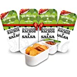 Colonel & Co Olive Herb Nachos with Salsa, 75g (Pack of 4)