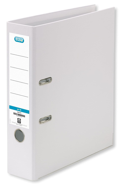 Herlitz Ordner maX.file protect A4 schwarz mit PP-Bezug Rückenbreite 80 mm