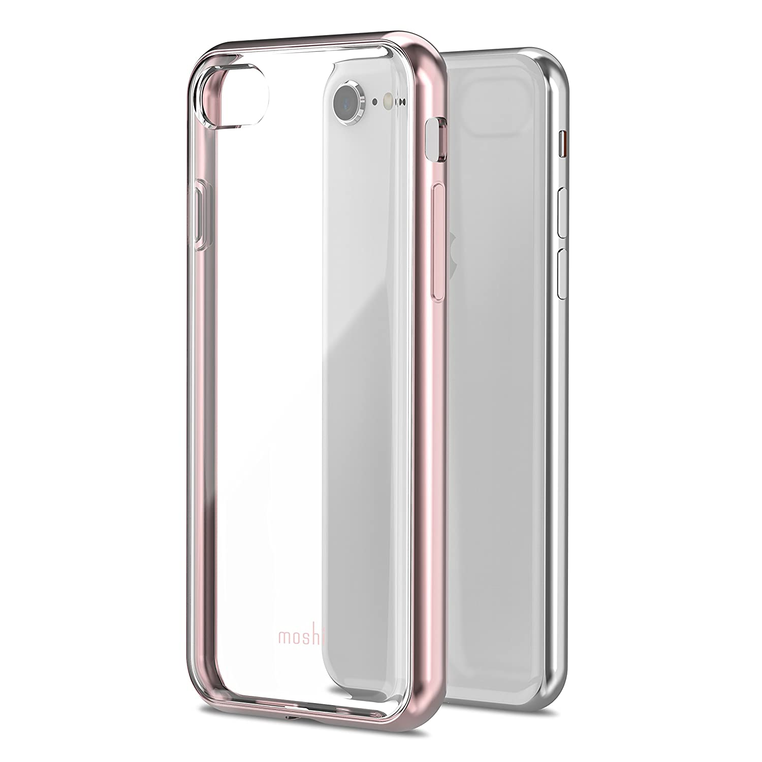 851a3a2abd Amazon.com: Moshi Vitros for iPhone 8/7 - Crystal Clear: Cell Phones &  Accessories